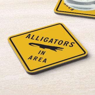 Alligators in Area, Louisiana, USA Coaster