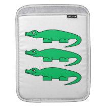 Alligators. iPad Sleeve
