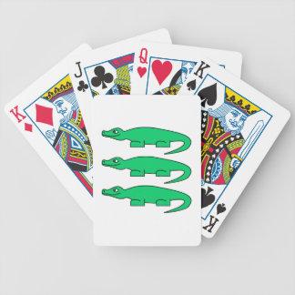 Alligators. Deck Of Cards