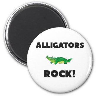 Alligators Rock Fridge Magnets
