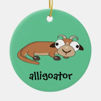 Alligoator Ceramic Ornament