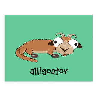 Alligoator Postcard