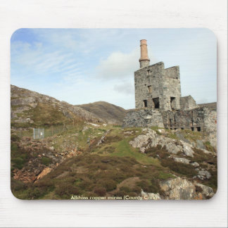 Allihies copper mines mouse pad