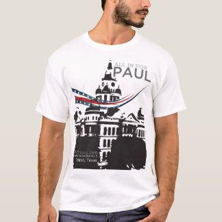 allinforpaul.com dome logo T-Shirt