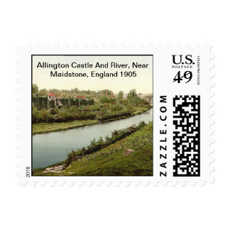 Allington Castle, Near Maidstone, England 1905 Postage