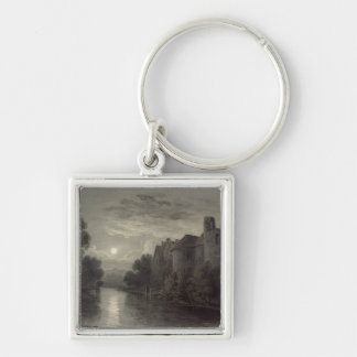Allington Castle, near Maidstone, Kent; Moonlight Keychain