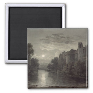 Allington Castle, near Maidstone, Kent; Moonlight Magnet