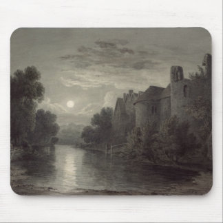 Allington Castle, near Maidstone, Kent; Moonlight Mouse Pad