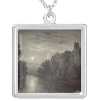 Allington Castle, near Maidstone, Kent; Moonlight Silver Plated Necklace