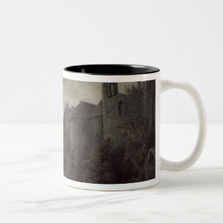 Allington Castle, near Maidstone, Kent; Moonlight Two-Tone Coffee Mug