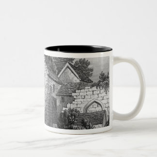 Allington Castle Two-Tone Coffee Mug