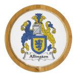 Allington Family Crest Round Cheeseboard