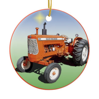 Allis-Chalmers D19 Ceramic Ornament