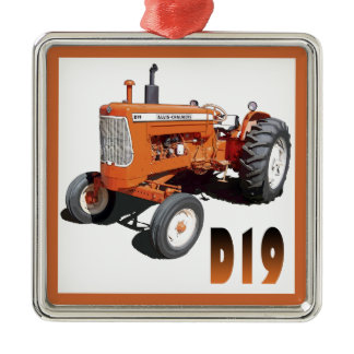 Allis-Chalmers D19 Metal Ornament