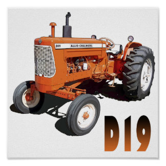 Allis-Chalmers D19 Poster