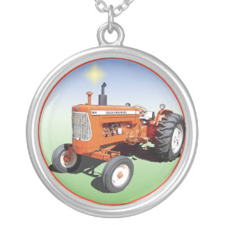 Allis-Chalmers D19 Silver Plated Necklace