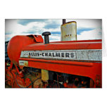 Allis Chalmers tractor Card