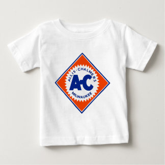 Allis Chalmers Tractor Vintage Hiking Duck Baby T-Shirt