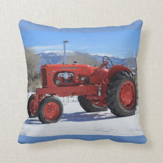 Allis Chalmers WD45 1955 Tractor In Snow Pillow