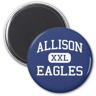 Allison Eagles Traditional Wichita Kansas Magnet