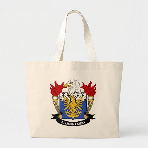 Allison Family Crest Bags