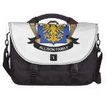 Allison Family Crest Commuter Bag