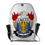 Allison Family Crest Messenger Bags