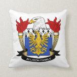 Allison Family Crest Pillow