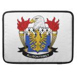 Allison Family Crest Sleeve For MacBooks