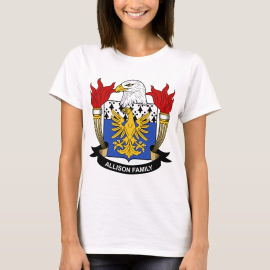Allison Family Crest T-Shirt