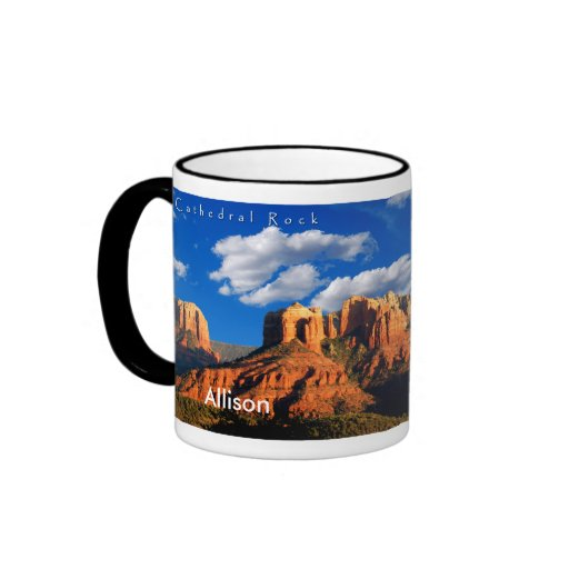 Allison on Cathedral Rock and Courthouse Mug