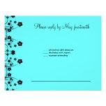 Allison Rachel Flowers & Pearls RSVP Personalized Invites