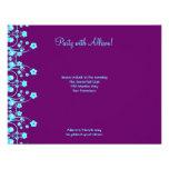 Allison Rachel Flowers & Pearls RSVP Invites
