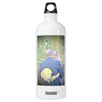 Allison & Rob's Wedding Water Bottle