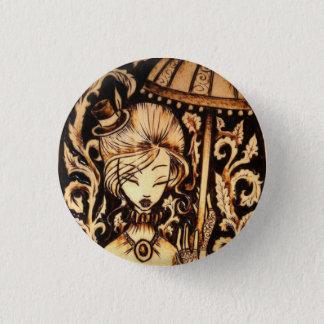 Allison Steampunk Button Pin