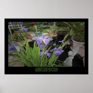 """Allison's Pond"" - Print"