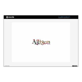 "Allisun's Colorful Fun 13"" Laptop Skin"