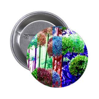 Allium colors pinback button
