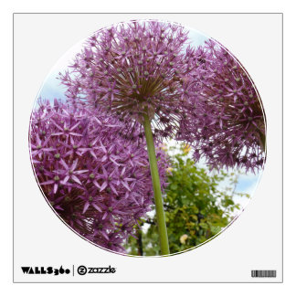Allium Flower Wall Decor