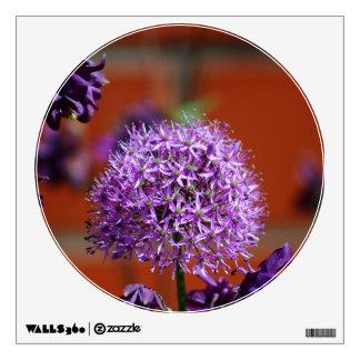 Allium Flower Room Graphics
