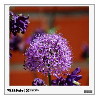 Allium Flower Wall Skins