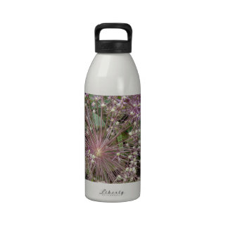 Allium Flower Water Bottles