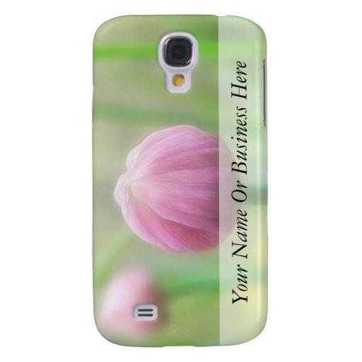 Allium Schoenoprasum - brote de la cebolleta Funda Para Galaxy S4