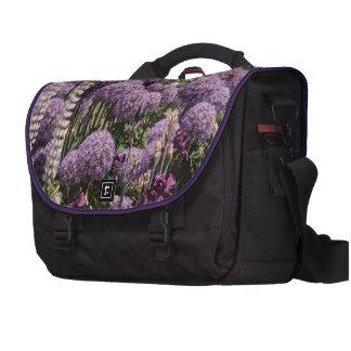 Alliums In The Iris Garden Bags For Laptop
