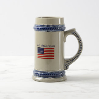Alll American Beer Stein