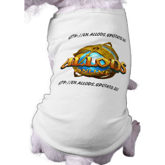Allods promotion dog sweater tee