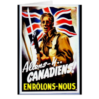 Allons - Y, Canadiens! Greeting Card