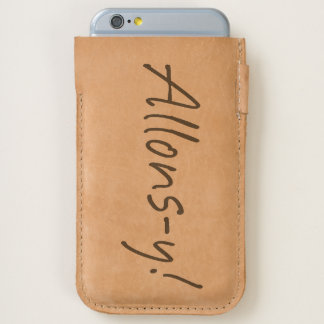 Allons-y iPhone 6/6S Case