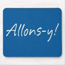 Allons-y Mouse Pad