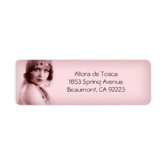 Allora in Light Blush Pink - Address Labels
